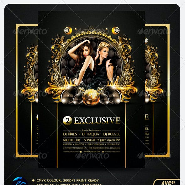 Two Exclusive Flyer Template