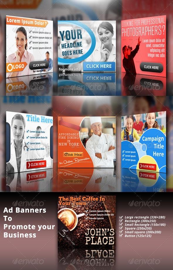 Ad Banner Bundle - Banners & Ads Web Elements