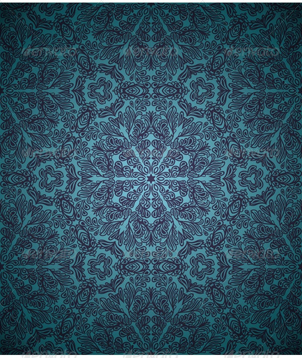 Retro Repeating Wallpaper By Hoverfly