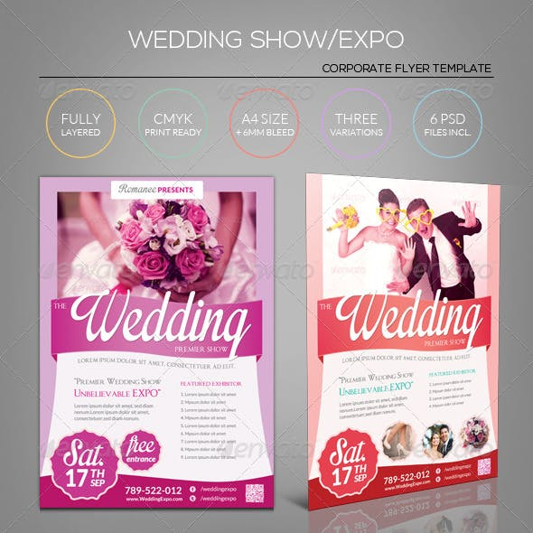 Wedding Expo/Show Flyer Template III
