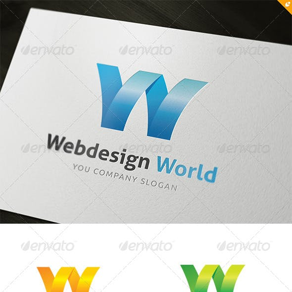 Web Design World Logo