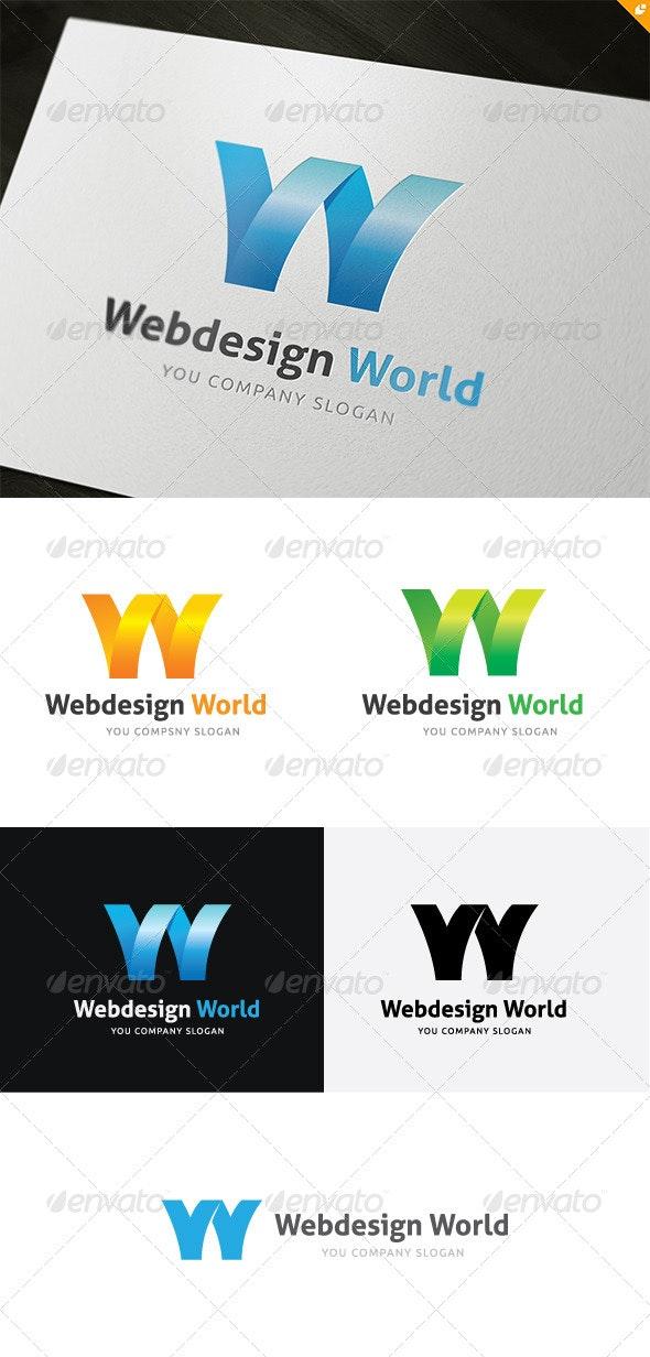 Web Design World Logo