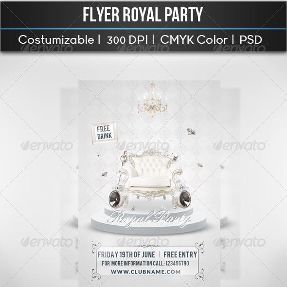 Flyer Royal Party