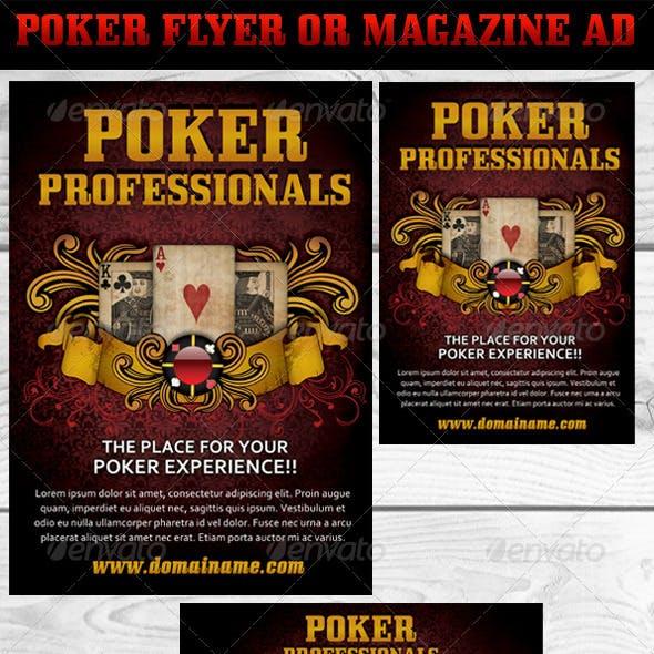 Poker Magazine Ads or flyers 3