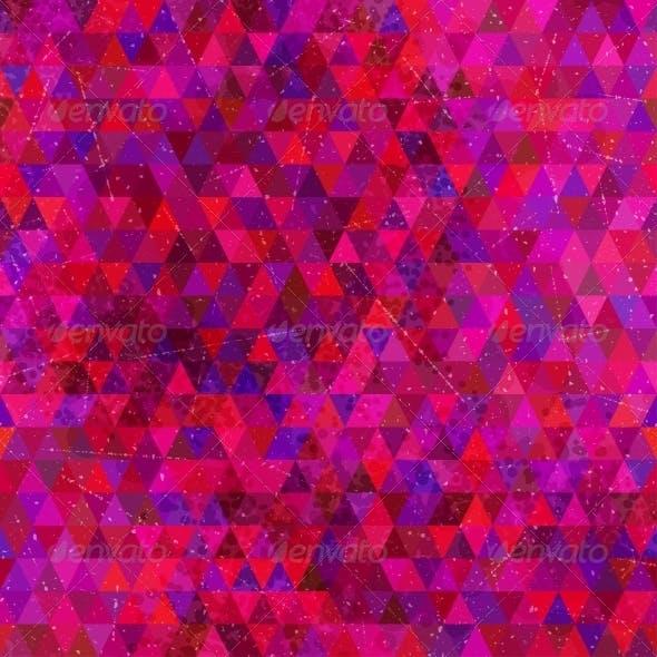 Retro Triangles Seamless Pattern