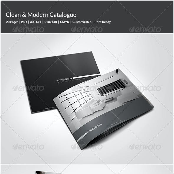 Clean & Modern Catalogue