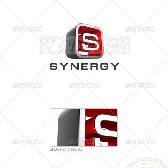 Letter S Logo 3D-738