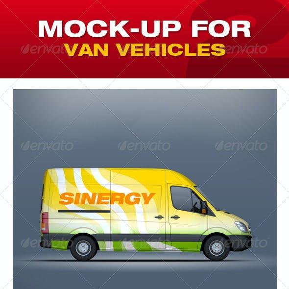 Mock-Up For Van Vehicles V2
