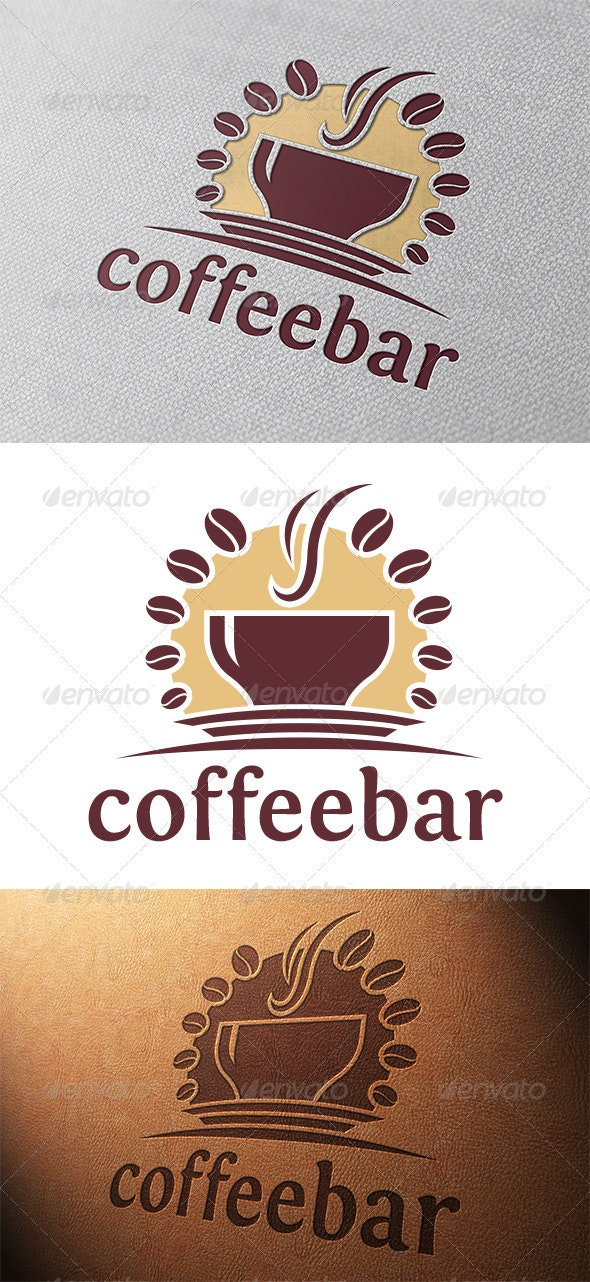 Coffee Logo Template - Food Logo Templates