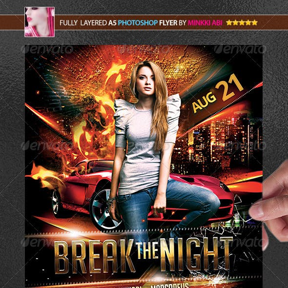 Break The Night Poster/Flyer