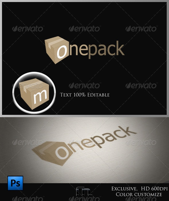 One Pack - 3d Abstract