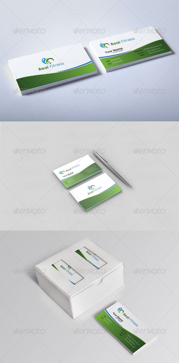 Real Business Card - Corporate Business Cards