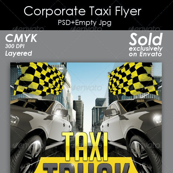 Corporate Taxi Flyer