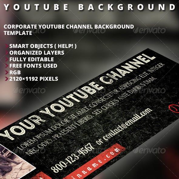 Retro Youtube Background