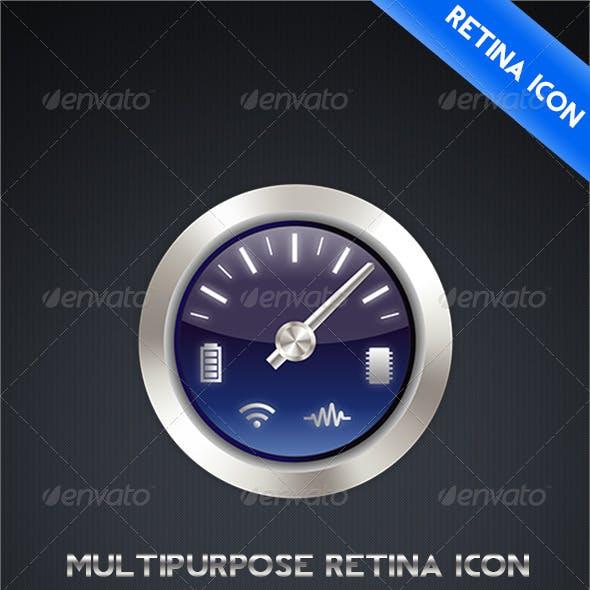 MultiPurpose Retina Icon for App - MagicPixelz
