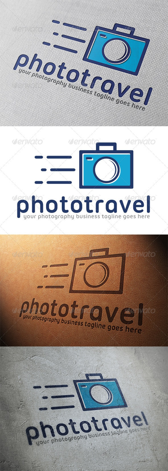 Photo Travel Logo Template
