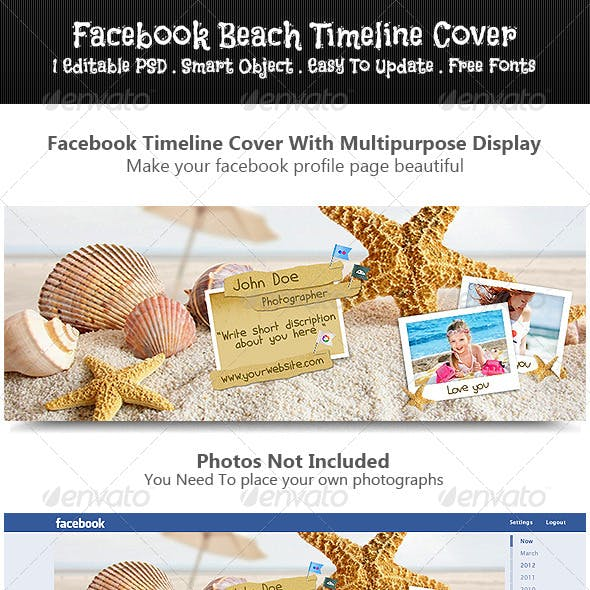Facebook Beach Timeline Cover