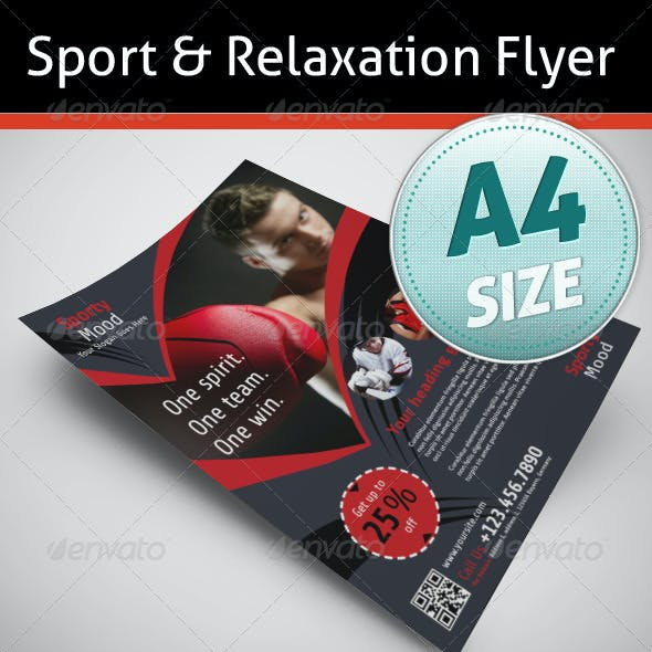 Sport & Relaxation Flyer