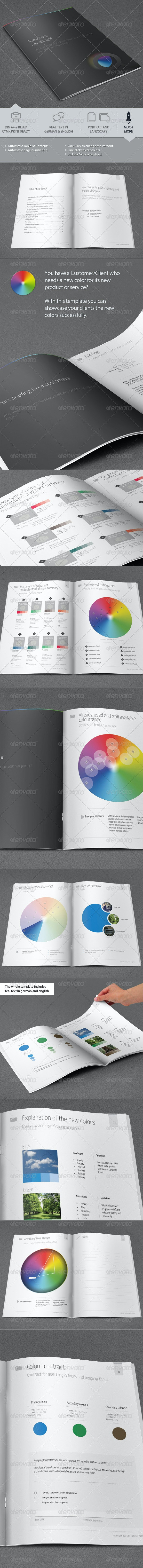 Color Finder Proposal for new Product and Service - Proposals & Invoices Stationery
