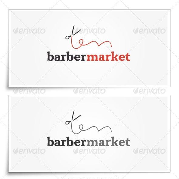 BarberMarket   Logo Template