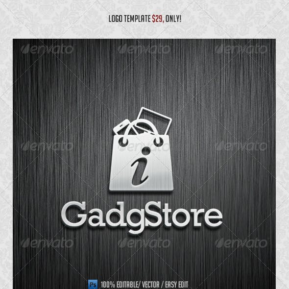 GadgStore Logo Template