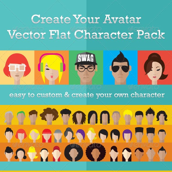 Create Your Avatar Character Pack