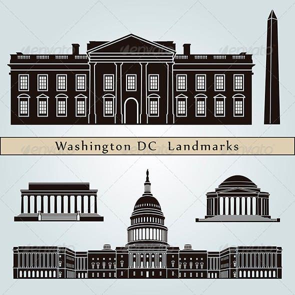 Washington DC Landmarks and Monuments
