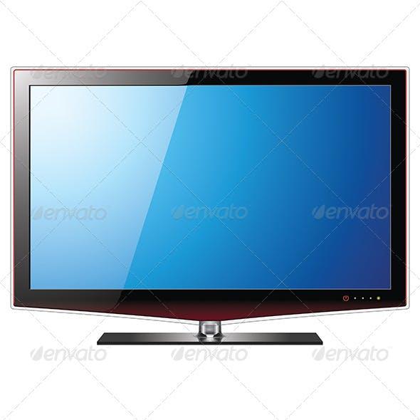 TV Flat LCD Screen