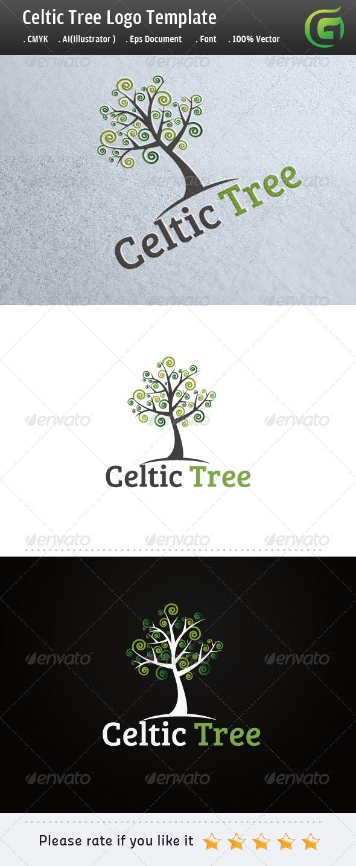 Celtic Tree - Nature Logo Templates