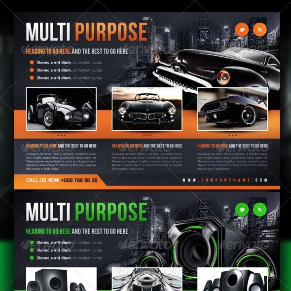 Multipurpose / Corporate / Business Flyer