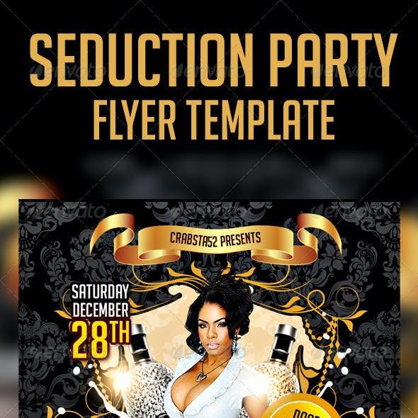 Seduction Party Flyer Template
