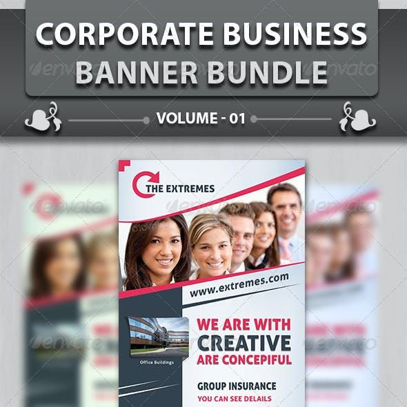 Corporate Business Banner | Bundle 1