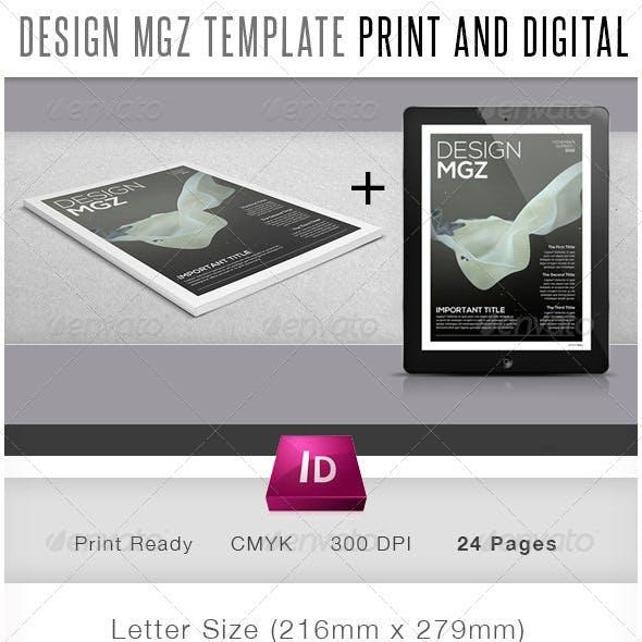 Design MGZ Print & Digital