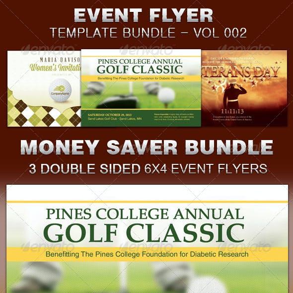 Event Flyer Template Bundle-Vol 002