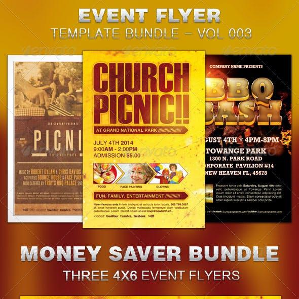 Event Flyer Template Bundle-Vol 003