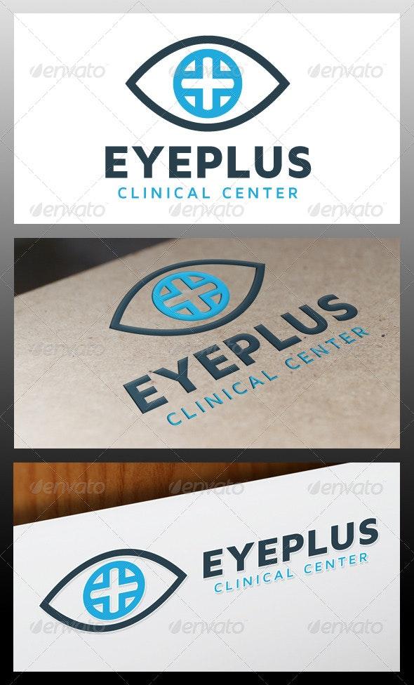 Eye Plus Logo Template