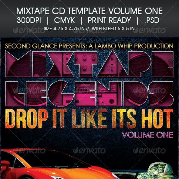 Mixtape CD Template Volume One