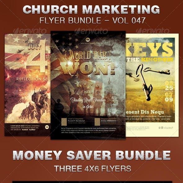 Church Marketing Flyer Bundle Vol 047