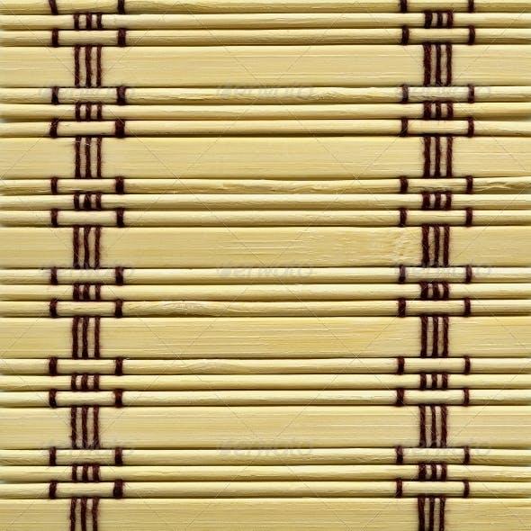 Bamboo mat
