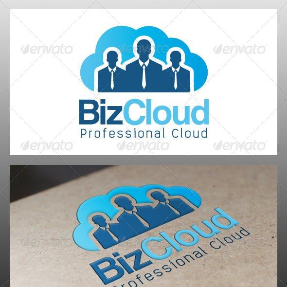 Business Cloud Logo Template