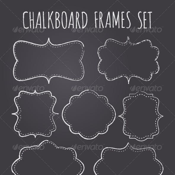 Chalkboard Frames Collection