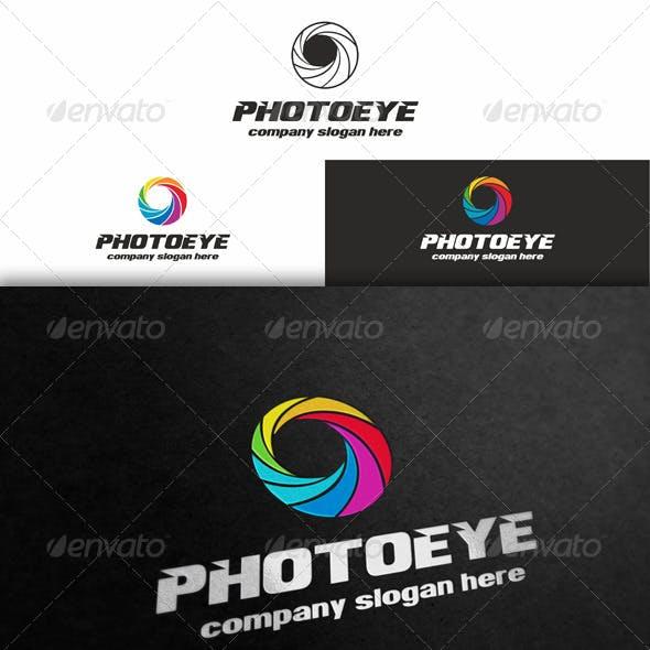 Photo Eye - Diaphragm Logo