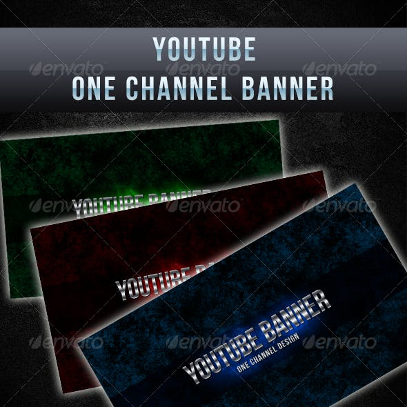 YouTube One Channel Design Banner