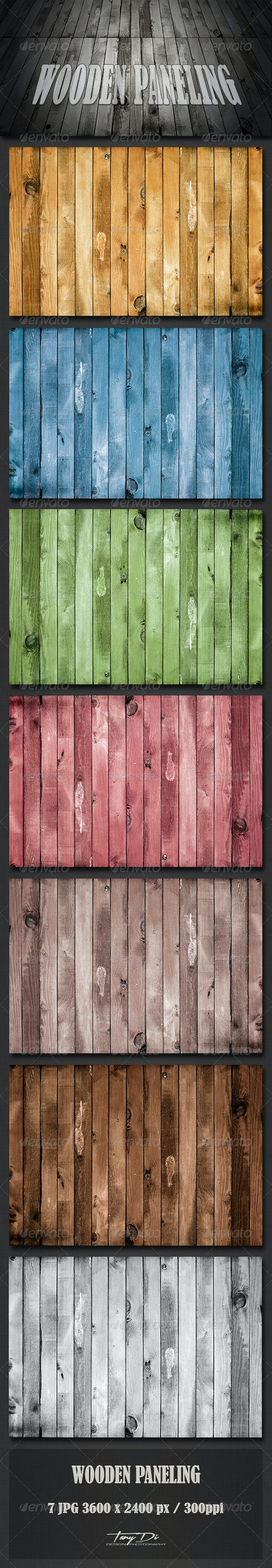 Wooden Paneling - Wood Textures