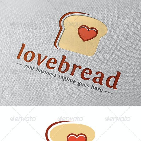 Love Bread Logo Template