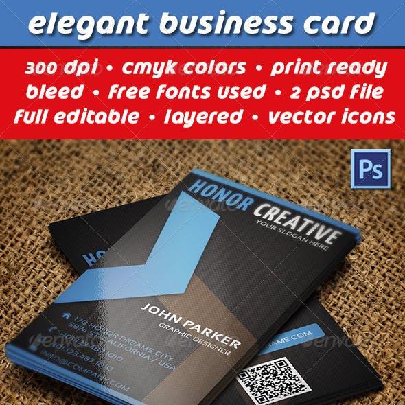 Creative Business Card 111