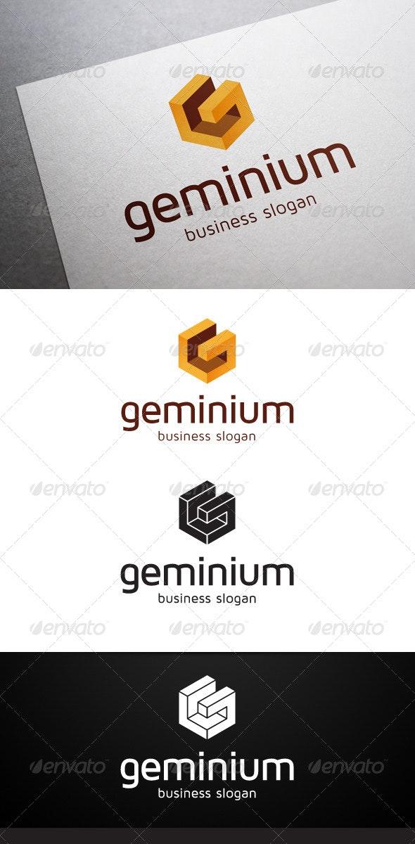 Geminium G Letter Logo - Letters Logo Templates