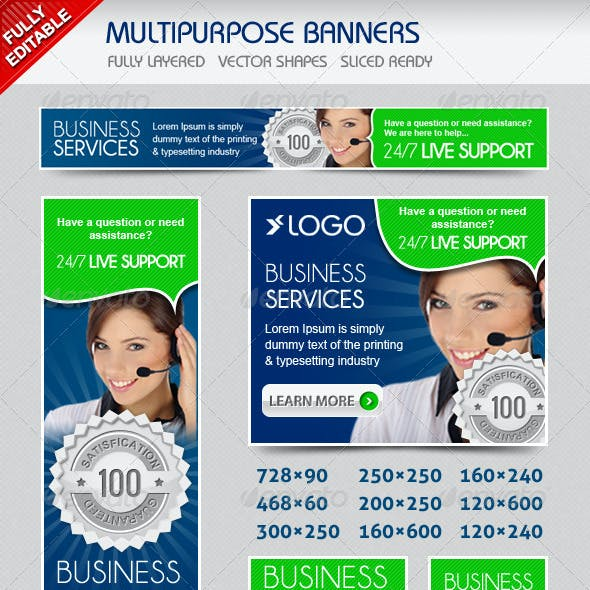 Multiporpose Banners