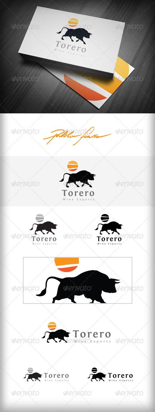 Bull Logo - Wine Export Logo - Tapas Bar Logo