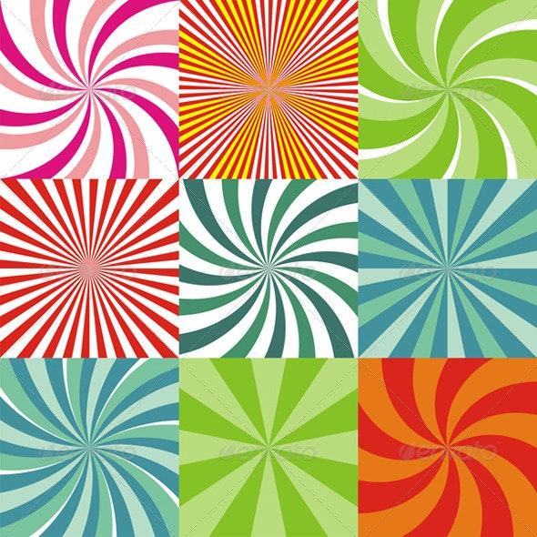 Radiant Backgrounds - Backgrounds Decorative
